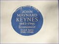 Image for John Maynard Keynes - Gordon Square, London, UK
