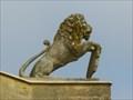 Image for Lord Cobham's Pillar's Lions - Stowe Landscape Gardens, Buckinghamshire, UK