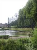 Image for Stansty Main Gates - Erddig Estate, Wrexham, Wales, UK