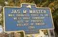 Image for Jas. Mc Master - Owego, NY
