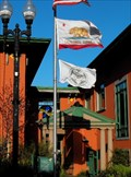 Image for Flag at City Hall - Pacific Grove, California