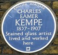 Image for Charles Eamer Kempe - Nottingham Place, London, UK