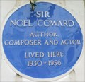 Image for Noel Coward - Gerald Road, London, UK
