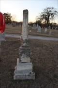 Image for Mattie May Goodman -- Oakwood Cemetery, Tyler TX