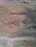 Image for Benchmark, St Michael with St Mary - Melbourne, Derbyshire