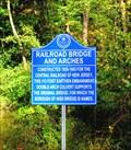 Image for Railroad Bridge and Arches - High Bridge, NJ