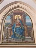 Image for Mosaik der Jungfrau Maria an der Stadtpfarrkirche St. Nikolaus - Rosenheim, Bayern, D