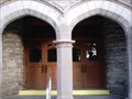 Image for First United Methodist Church Doorway - Mansfield, OH