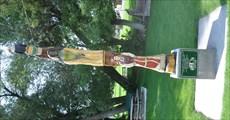 Image for Ephraim Pioneer Memorial Park Totem Pole ~ Ephraim, Utah