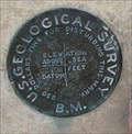 Image for U.S. Geological Survey B.M.-Fredericksburg, Texas