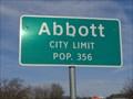 Image for Abbott, TX - Population 356