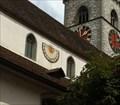 Image for Sundial at St. Johann Church - Schaffhausen, Switzerland