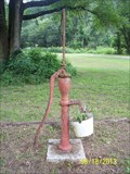 Image for Hand-Operated Water Pump at McDowell School, Missouri