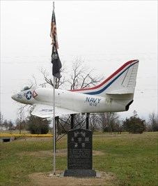 PURDY MEMORIAL JET AND FLAG