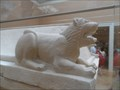 Image for Limestone Sarcophagus Lions -  New York City, NY