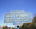 Image for Blue Plaque: Gettysburg