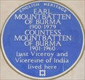 Image for Earl Mountbatten of Burma - Wilton Crescent, London, UK