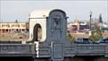 Image for Monroe Street Bridge Pavilion Skulls - Spokane, WA