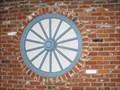 Image for Wagon wheel restaurant wall - Santa Cruz, Californiz