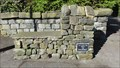 Image for Dalesway bench – Ilkley, UK