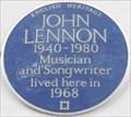Image for John Lennon - Montagu Square, London, UK