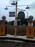 Image for Blue Sunoco Gas Pumps - Girard, PA