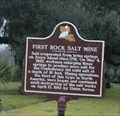 Image for FIRST -- Rock Salt  Mine, Avery Island LA