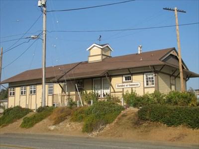 Auburn Depot Distant View, Auburn, CA