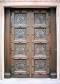 Image for Boston Athenaeum Carved Door  -  Boston, MA
