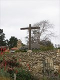 Image for Carmel Mission entrance cross - Carmel, CA