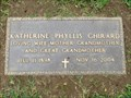 Image for 106 - Katherine Phyllis Ghirard - Lakeside Cemetery - Folsom, CA