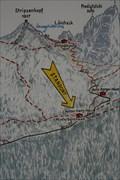 Image for Standortkarte Hinterbärenbad - Bezirk Kufstein, Tirol, A