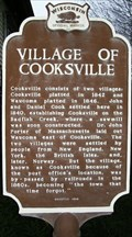 Image for Village of Cooksville Historical Marker
