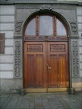 Image for Door of Town Hall, Klatovy, CZ, EU
