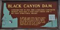 Image for Black Canyon Dam