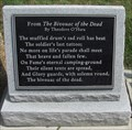 Image for Theodore O'Hara - The Bivouac of the Dead - Glendale National Cemetery - Richmond, Virginia