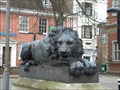Image for Pair of Lions, Market Square Aylesbury