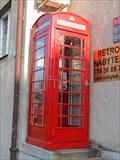 Image for Res Telephone Box, Hlavni, ul, Prague, Czech Republic