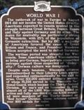 Image for World War I - Menomonie, WI