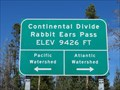 Image for Continental Divide, Rabbit Ears Pass at 9,426 ft - Grand County, Colorado