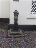 Image for A milepost from the Caerleon Tramway, Caerleon Endowed School, High St, Caerleon, Newport. NP18 1DY.
