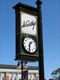 Image for McCarthy's Clock - Woonsocket, Rhode Island