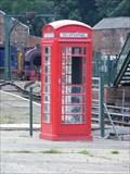 Image for Red Phone Box, Elsecar Heritage Railway, Barnsley.