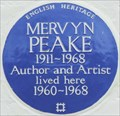 Image for Mervyn Peake - Drayton Gardens, London, UK
