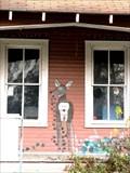 Image for  Deer on Porch Mural  -  Ponchatoula, LA