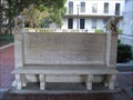 Image for The Great War memorial bench - Berkeley, CA