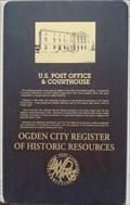 Image for U.S. Post Office & Courthouse - Ogden, Utah