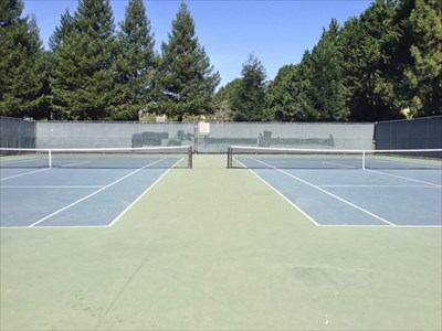 University Terrace Tennis Courts, Santa Cruz, California
