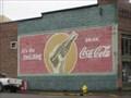 Image for Vintage Coca Cola Ad - Cottage Grove Oregon