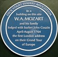 Image for W A Mozart and Family - Cecil Court, London, UK